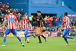 "Atletico de Madrid's Gabriel ""Gabi"" Fernández, Koke Resurreccion and Thomas Teye and Valencia CF's Carlos Soler during La Liga match between Atletico de Madrid and Valencia CF at Vicente Calderon Stadium  in Madrid, Spain. March 05, 2017. (ALTERPHOTOS/BorjaB.Hojas)"