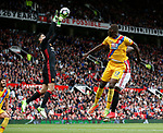 Joel Castro Pereira of Manchester United collects the high ball during the English Premier League match at the Old Trafford Stadium, Manchester. Picture date: May 21st 2017. Pic credit should read: Simon Bellis/Sportimage