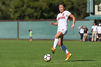 Stanford, CA - October 23, 2016:  Michelle Xiao during the Stanford vs Utah Women's soccer match in Stanford, California.  The Cardinal defeated the Utes 2-0.