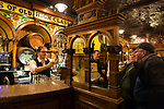 The historic Crown Liquor Saloon in Belfast, Northern Ireland