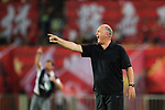 Guangzhou Evergrande Head Coach Luiz Felipe Scolari gestures during the AFC Champions League 2017 Quarter-Finals match between Guangzhou Evergrande (CHN) vs Shanghai SIPG (CHN) at the Tianhe Stadium on 12 September 2017 in Guangzhou, China. Photo by Marcio Rodrigo Machado / Power Sport Images