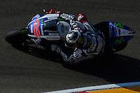 Aragon (Spagna) 26/09/2014 - prove libere Moto GP / foto Luca Gambuti/Image Sport/Insidefoto<br /> nella foto: Jorge Lorenzo