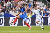 June 13th 2017, Stade de France, Paris, France; International football friendly, France versus England;  Djibril Sidibe (fra)breaks away from Dele Alli (eng)