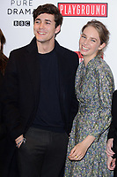 Jonah Hauer-King &amp; Maya Hawke at the &quot;Little Women&quot; screening at the Soho Hotel, London, UK. <br /> 11 December  2017<br /> Picture: Steve Vas/Featureflash/SilverHub 0208 004 5359 sales@silverhubmedia.com