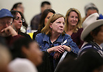 "Dr. Georgia White listens to speakers at the ""We Are Western"" event hosted by the Western Nevada College Foundation, in Carson City, Nev., on Friday, March 8, 2019. <br /> Photo by Cathleen Allison/Nevada Momentum"
