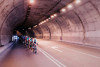Tunnel vision <br /> <br /> 112th Il Lombardia 2018 (ITA)<br /> from Bergamo to Como: 241km