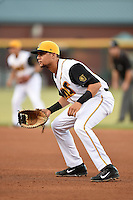 Jacksonville Suns first baseman Viosergy Rosa (44) during game three of the Southern League Championship Series against the Chattanooga Lookouts on September 12, 2014 at Bragan Field in Jacksonville, Florida.  Jacksonville defeated Chattanooga 6-1 to sweep three games to none.  (Mike Janes/Four Seam Images)