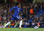 12th September 2017, Stamford Bridge, London, England; UEFA Champions League Group stage, Chelsea versus Qarabag FK; Willian of Chelsea in action