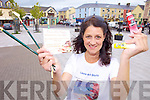 ARTY: Killorglin artist Nikki Morris, who is holding a number of art summer camps for children over the summer..