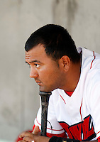 Carlos Ramirez of the Orem Owlz (2009 Pioneer League)..Photo by:  Bill Mitchell/Four Seam Images..