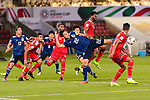 Yoshida Maya of Japan (C) in action during the AFC Asian Cup UAE 2019 Group F match between Oman (OMA) and Japan (JPN) at Zayed Sports City Stadium on 13 January 2019 in Abu Dhabi, United Arab Emirates. Photo by Marcio Rodrigo Machado / Power Sport Images