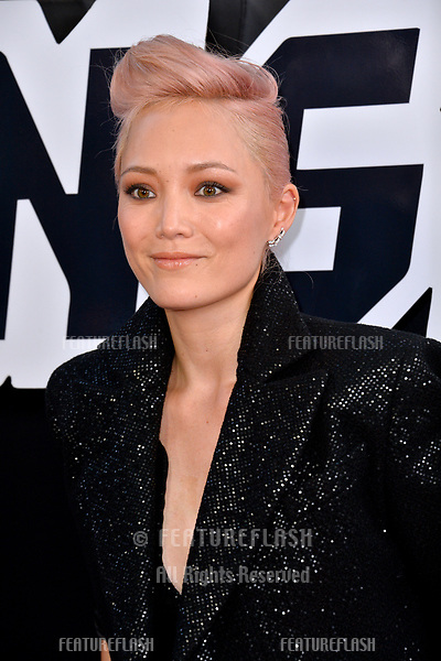 """Pom Klementieff at the Los Angeles premiere of """"BlacKkKlansman"""" at the Academy's Samuel Goldwyn Theatre, Beverly Hills, USA 08 Aug. 2018<br /> Picture: Paul Smith/Featureflash/SilverHub 0208 004 5359 sales@silverhubmedia.com"""