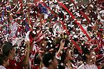 24 July 2007:  CD Gaudalajara fans rejoice.  FC Dallas tied Chivas de Guadalajara 1-1 at Pizza Hut Park in Frisco, Texas, in the opening match of SuperLiga 2007.