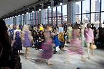 Michael Kors at New York fashion week fall 2014.<br /> <br /> Ben Sklar