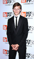 NEW YORK, NY-October 01:Lucas Hedges at 54th New York Film Festival screening of Manchesyer by the Sea  at Alice Tully Hall at Lincoln Center in New York. October 01, 2016. Credit:RW/MediaPunch