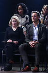 Carole Rothman and Tony Goldwyn during the Second Stage Theater Broadway lights up the Hayes Theatre at the Hayes Theartre on February 5, 2018 in New York City.