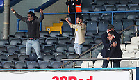 Leeds United owner Andrea Radrizzani (right) celebrates after the match<br /> <br /> Photographer Alex Dodd/CameraSport<br /> <br /> The EFL Sky Bet Championship - Leeds United v Barnsley - Thursday 16th July 2020 - Elland Road - Leeds<br /> <br /> World Copyright © 2020 CameraSport. All rights reserved. 43 Linden Ave. Countesthorpe. Leicester. England. LE8 5PG - Tel: +44 (0) 116 277 4147 - admin@camerasport.com - www.camerasport.com