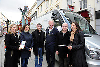 Pictured in KIllarney on Saturday when members of the Kerry Convention Bureau were looking to motivate people to become a 'Conference Ambassador' for Killarney were from left, Niamh O'Shea, KCB,, Kate O'Leary, Incoming President, Killarney Chamber of Tourism &amp; Commerce,  John Rice, Ring of Kerry Cycle, MIke Buckley, Kerry Coaches, Denis Reidy, Muckross House and Cara Fuller, KCB.<br /> The aim of the ambassador programme is to encourage  members of sports organisations, federations, societies and organised groups to promote Killarney as the venue for their next conference where they will get full support from the KCB to ensure a successful event. More information can be found on www.kerryconventionbureau.com<br /> Picture by Don MacMonagle <br /> <br /> PR PHOTO FROM KILLARNEY CHAMBER