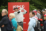 Jose Maria Olazabal watches his drive on the 14th during the first round of the ISPS Handa Wales Open 2012....31.05.12.©Steve Pope