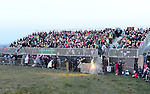 Part of the large crowd that turned out to see the flame of Slane. Photo:Colin Bell/pressphotos.ie