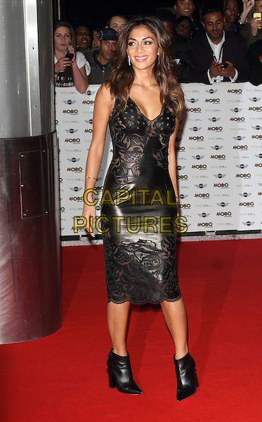 LONDON, ENGLAND - OCTOBER 22: Nicole Scherzinger attends the MOBO Awards at SSE Arena on October 22, 2014 in London, England. <br /> CAP/ROS<br /> &copy;Steve Ross/Capital Pictures