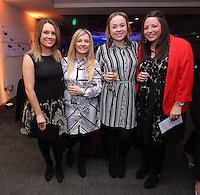 Pictured: Hannah Eames (2nd L) and Rebecca Parry (3rd L)<br />
