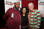"""Ruben Studdard, Kimberley Locke and Clay Aiken attend the Opening Night After Party for """"Ruben & Clay's First Annual Christmas Show"""" on December 11, 2018 at The Copacabana Times Square in New York City."""