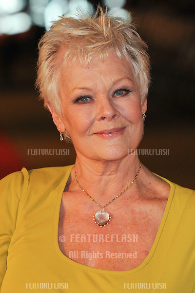 Dame Judi Dench arriving for the world premiere of 'Nine' at the Odeon Leicester Square, London.  03/12/2009  Picture by: Steve Vas / Featureflash