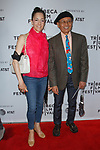 Glenn Kubota (right)  and guest arrive at the world premiere of Standing Up, Falling Down at the 2019 Tribeca Film Festival presented by AT&T Thursday, April 25, 2019 at SVA Theater - 333 West 23 Street New York, NY.