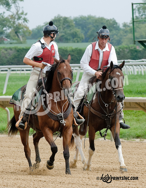 Lance at Delaware Park on 9/5/13