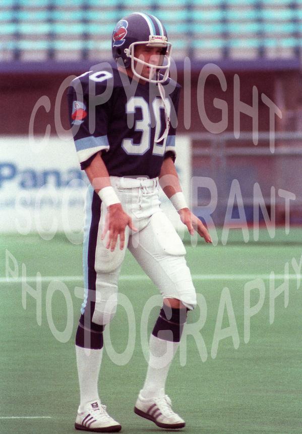 Geoff TownsendToronto Argonauts 1983. Photo F. Scott Grant