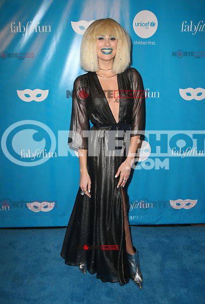 LOS ANGELES, CA - OCTOBER 27:  Arielle Vandenburg, at UNICEF Next Generation Masquerade Ball Los Angeles 2017 At Clifton's Republic in Los Angeles, California on October 27, 2017. Credit: Faye Sadou/MediaPunch /NortePhoto.com
