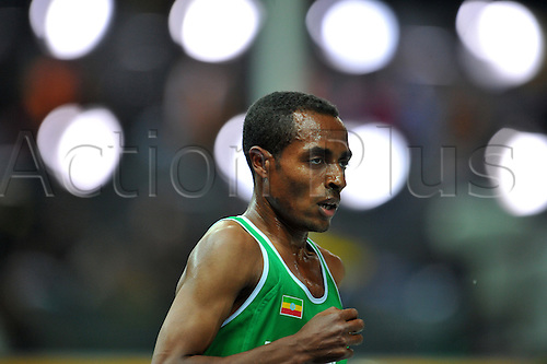 Kenenisa Bekele (ETH) 17 August 2009 - Athletics : 12th IAAF World Championships in Athletics - Berlin 2009, Germany, Men's 10,000m Final at the Olympic Stadium, Berlin,Germany. (Photo by Jun Tsukida/ActionPlus) UK Licenses Only