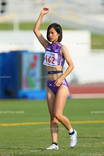 Yuzuki Ishioka, JULY 30, 2015 - Athletics : 2015 All-Japan Inter High School Championships, Women's High Jump Final at Kimiidera Athletic Stadium, Wakayama, Japan. (Photo by YUTAKA/AFLO SPORT)