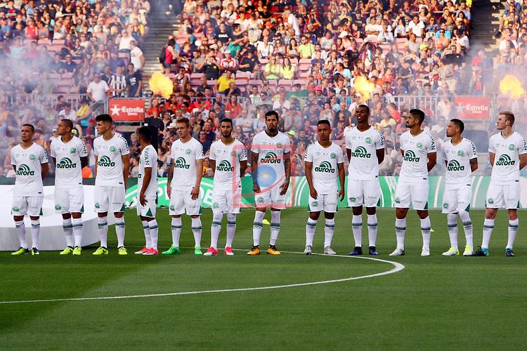 52e Trofeu Joan Gamper.<br /> FC Barcelona vs Chapecoense: 5-0.