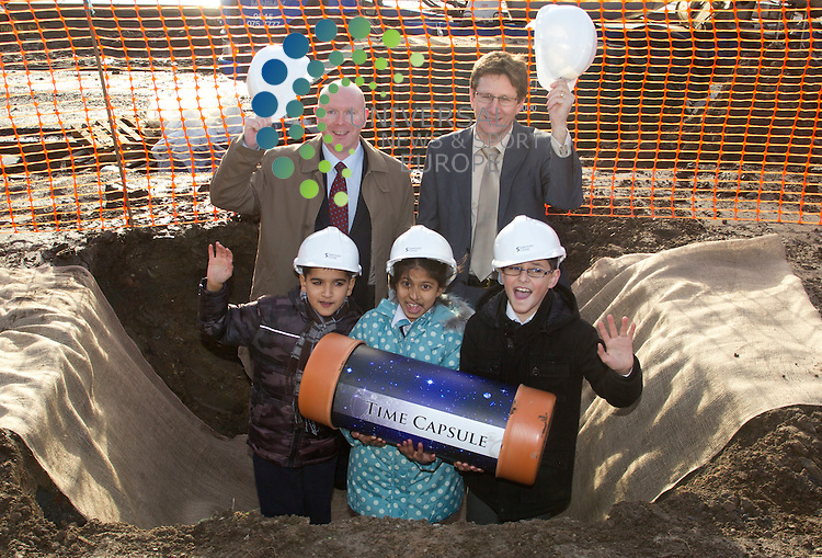 Sanctuary Scotland - time capsule in Anderson.Picture: Universal News And Sport (Europe) 2 December  2011.