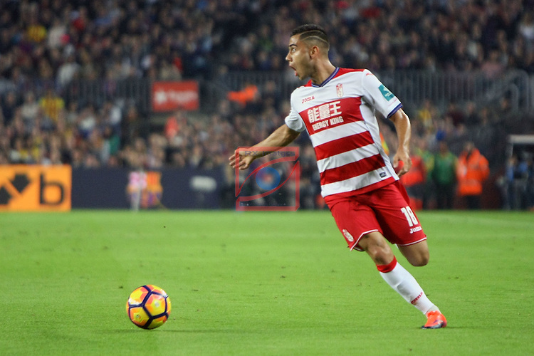 League Santander 2016/2017. Game: 10.<br /> FC Barcelona vs Granada CF: 1-0.<br /> Andreas Pereira.