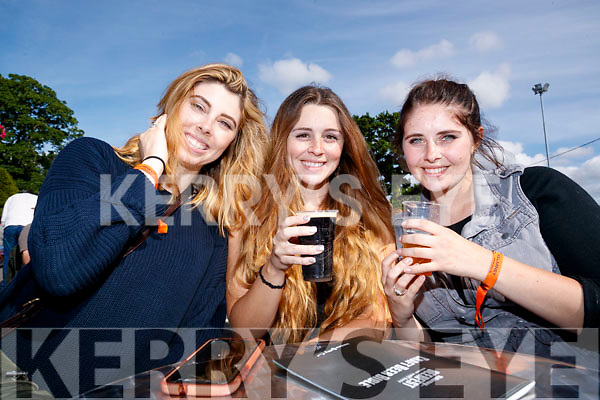Kristine, Caroline and Kelsey Ringuette, enjoying Killarney Beerfest, at the INEC, Killarney on Saturday evening last.