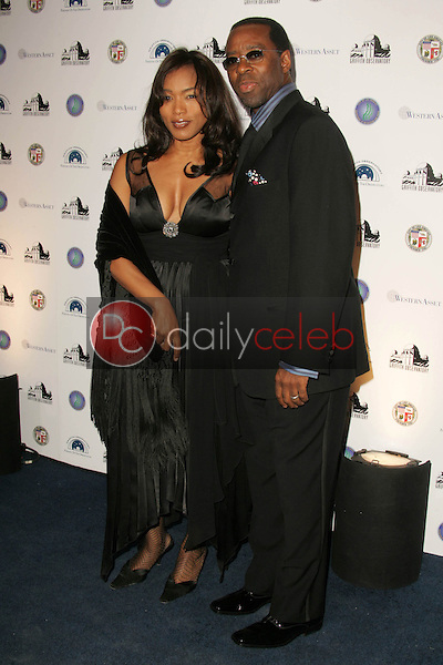 Angela Bassett and Courtney B. Vance<br />