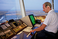 Released, Airport traffic controller, San Francisco, California