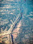 Window seat over The Hogback of western New Mexico near Upper Nutria on the Zuni Reservation