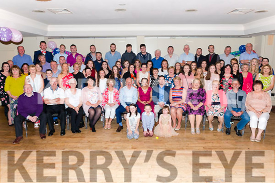 Katelynn and Michael O'Keeffe from Shronedraugh, Headford, Killarney celebrated their 21st and 30th birthday surrounded by friends and family in the Torc Hotel, Killarney last Saturday night