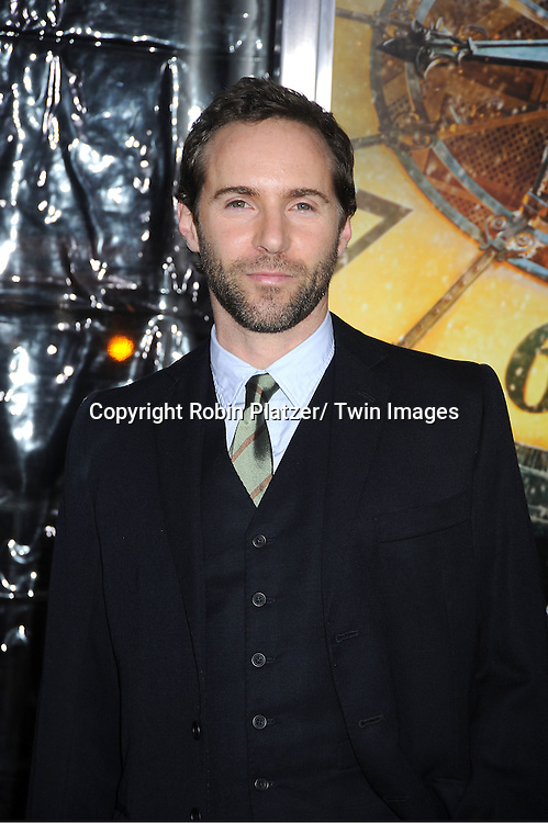 """actor  Alessandro Nivola attends The World Premiere of """"Hugo in 3D"""" on November 21, 2011 at The Ziegfeld Theatre in New York City."""