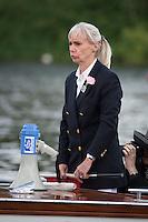 Henley Royal Regatta, Henley on Thames, Oxfordshire, 29 June-3 July 2015.  Thursday  10:44:29   30/06/2016  [Mandatory Credit/Intersport Images]<br /> <br /> Rowing, Henley Reach, Henley Royal Regatta.<br /> <br /> Mrs F K Dennis, Umpire