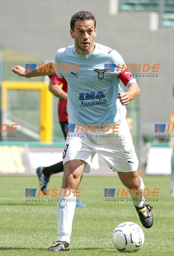 Luciano Zauri (Lazio)<br /> Italian &quot;Serie A&quot; 2006-07 <br /> 6 May 2007 (Match Day 35)<br /> Lazio-Livorno (1-0)<br /> &quot;Olimpico&quot; Stadium-Roma-Italy<br /> Photographer Andrea Staccioli INSIDE