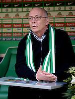 FUSSBALL   1. BUNDESLIGA   SAISON 2012/2013    30. SPIELTAG SV Werder Bremen - VfL Wolfsburg                          20.04.2013 Klaus-Dieter Fischer (Werder Bremen)