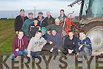 COMPETITORS: Helping the five competitord who were taken part in the.kerry Novice Day in Ploughing on Maurice Barrett land Causeway on.Sunday Front l-r: Thomas O'Keeffe, Jamie Donegan, Pa Lucid and John.O'Connor (Causeway) and Chris McCarthy (Abbeydorney) (Novices). Back.l-r: Michael P Donegan, Thomas Healy (Chairman Kerry Ploughing), Mike.McCarthy (Sec Kerry Ploughing), Tony O'Carroll, Michael J Donegan,.Jimmy Donegan and Thaomas O'Carroll..