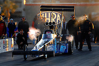 Jan 21, 2007; Las Vegas, NV, USA; NHRA Top Fuel Dragster driver David Grubnic during preseason testing at The Strip at Las Vegas Motor Speedway in Las Vegas, NV. Mandatory Credit: Mark J. Rebilas