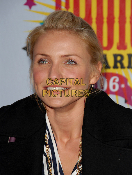 CAMERON DIAZ.Arrivals at The Nickelodeon's 19th Annual Kids' Choice Awards held at UCLA's Pauley Pavilion in Westwood, California, USA, April 1st 2006..portrait headshot .Ref: DVS.www.capitalpictures.com.sales@capitalpictures.com.©Debbie VanStory/Capital Pictures