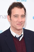 Clive Owen at WE Day 2016 at Wembley Arena, London.<br /> March 9, 2016  London, UK<br /> Picture: Steve Vas / Featureflash